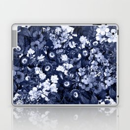 Bohemian Floral Nights in Navy Laptop & iPad Skin