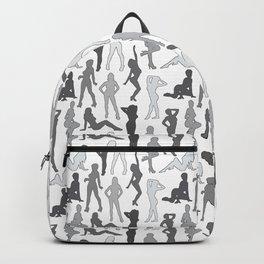 Femmes in Gris Backpack