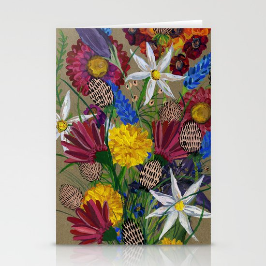 Boquet  Stationery Cards