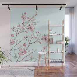 Apple Blossom #society6 #buyart Wall Mural