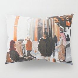 Orange Souk Pillow Sham