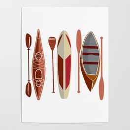 Paddle Passion Poster