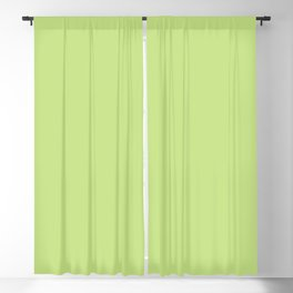 From The Crayon Box – Yellow Green - Bright Green Solid Color Blackout Curtain