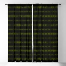 Lime Dna Data Code Blackout Curtain