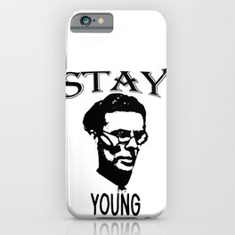 Stay Young | Aldous Leonard Huxley iPhone Case