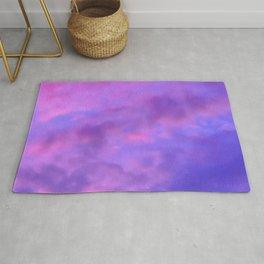 Purple Clouds Rug