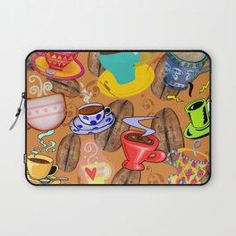 Coffee!, Coffee Art, Coffee Cups Laptop Sleeve