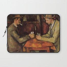 The Card Players Paul Cézanne Laptop Sleeve