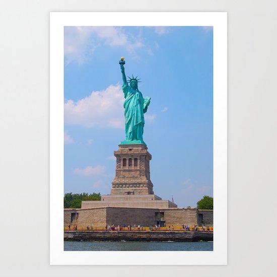 Liberty Art Print