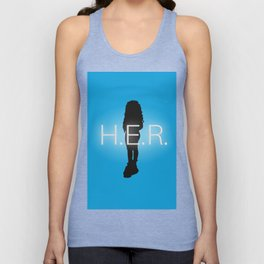 H.E.R. Music Singer Best Part Album Merch Unisex Tank Top