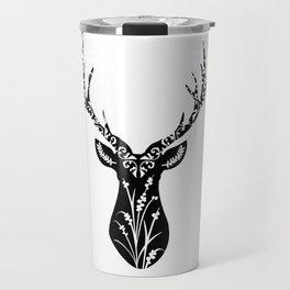 Buck Wild Flower Travel Mug