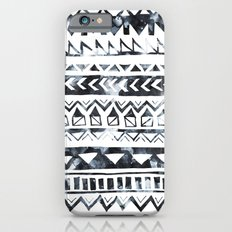 Tribal Stripe - B & W iPhone 6s Slim Case