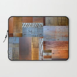 Reclaimed Wood Collage 4.0 Laptop Sleeve