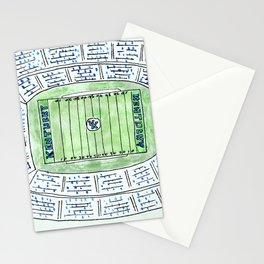 UK, Kentucky Wildcats, Football, Stadium, Lexington Stationery Cards
