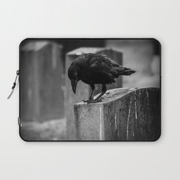 Cemetery Crow Laptop Sleeve