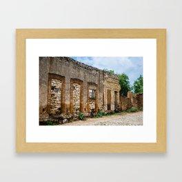 Mineral de Pozos Framed Art Print