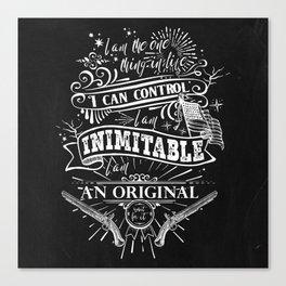Hamilton - Inimitable Canvas Print