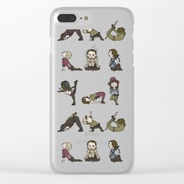 TWD YOGA Clear iPhone Case