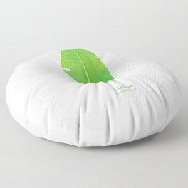 Tropical Vibes Collection: Musa basjoo Floor Pillow