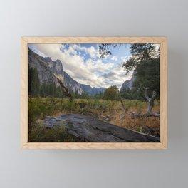 In the Valley. Framed Mini Art Print