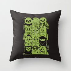 Famous Characters Throw Pillow