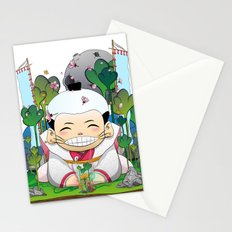 Fukusuke and the magic forest Stationery Cards