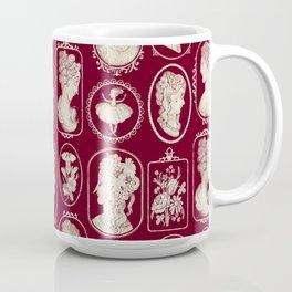 Red Cameos Coffee Mug
