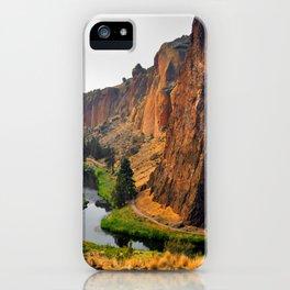 Desert Rock Valley iPhone Case