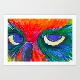 Sassy Owl Art Print