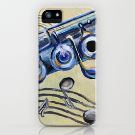 Flute Blues iPhone Case