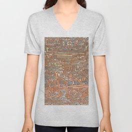 """Paul Klee """"Heiliger Bezirk (Holy District)"""" Unisex V-Neck"""