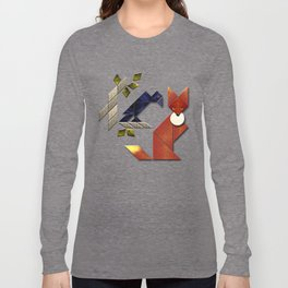 The Fox and The Crow Long Sleeve T-shirt