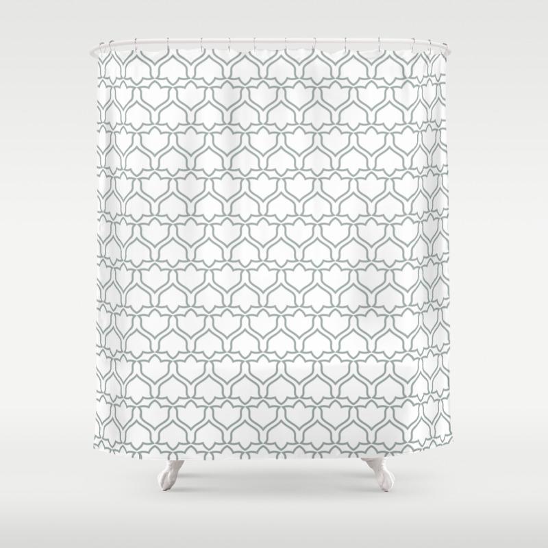 Marlo Organic Society6 Decor Buyart Artprint Shower Curtain