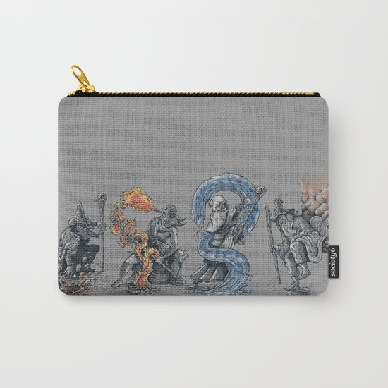 earth - fire - water - (bad) air Carry-All Pouch