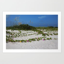 Railroad Vines on Boca I Art Print