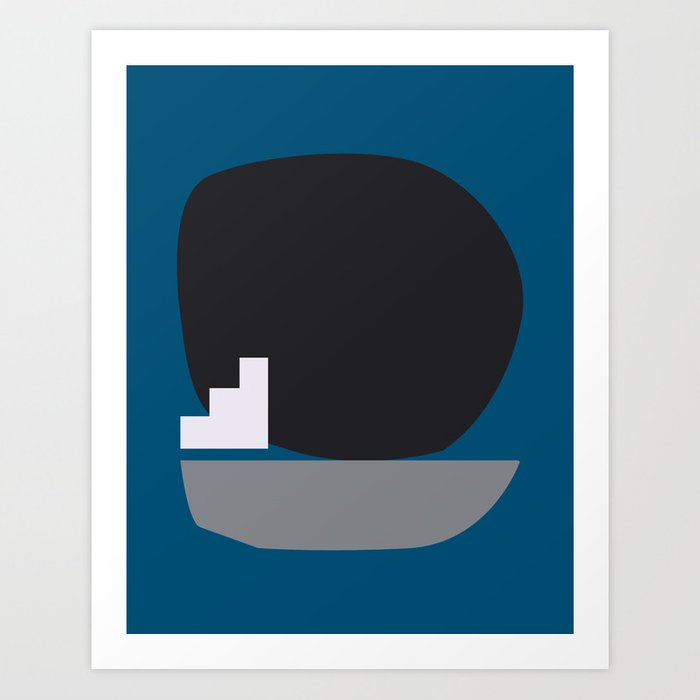 Shape study #4 - Stackable Collection Art Print