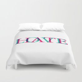 Love and Нate Duvet Cover
