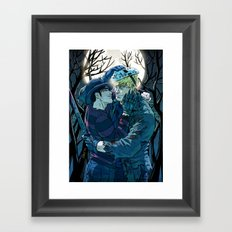 William and Theodore 28 Framed Art Print
