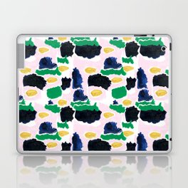 Imogen - painterly abstract palette colorful modern minimal painting boho dorm college hipster trend Laptop & iPad Skin