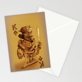 King  David Card Stationery Cards