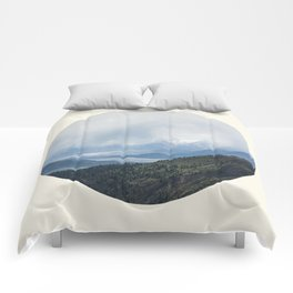 Mountain Valley Lake Comforters