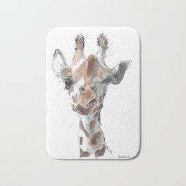 Knowing Giraffe Bath Mat