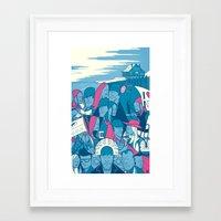eternal sunshine of the spotless mind Framed Art Prints featuring Eternal Sunshine of the Spotless Mind by Ale Giorgini