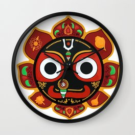 Sri Jagannatha Wall Clock