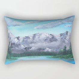 Carpathian Mountains Rectangular Pillow