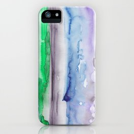 4 | 190907 | Watercolor Abstract Painting iPhone Case