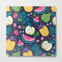 Hello Fruity Metal Print