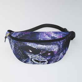 gorilla monkey face expression wscb Fanny Pack
