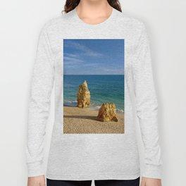 Praia da Rocha rocks Long Sleeve T-shirt