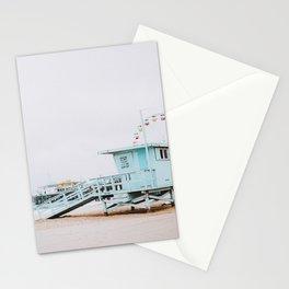 santa monica, california Stationery Cards